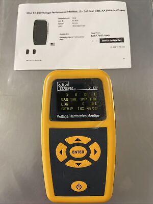 Ideal 61-830 Voltage Harmonics Monitor
