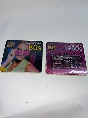 Solid Gold: Best of the 1980s / Awesome 80s CD Collector's Edition Tin Hair (Best Rock Bands 1980s)