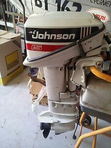 15hp Johnson outboard motor The Vines Swan Area Preview