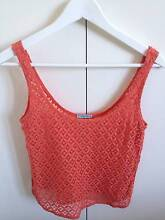 """KOOKAI"" WOMEN'S TOP SIZE 36. CORAL COLOUR. South Yarra Stonnington Area Preview"