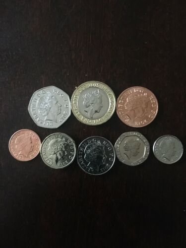 2015 Great Britain 8 Coin Set Uncirculated