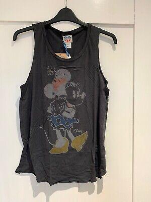 NEW Junk Food Minnie Mouse Disney Vest Ladies Tshirt