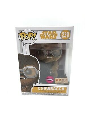 Funko Pop Star Wars Flocked Chewbacca Box Lunch Exclusive #239