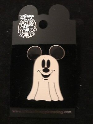 2004 Disney MICKEY MOUSE GHOST Halloween Hunted Mansion Pin - Halloween Mouse