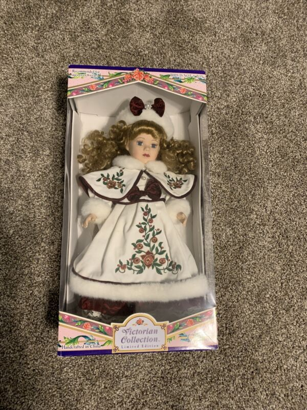 Victorian Collection Limited Edition Porcelain Doll by Melissa Jane