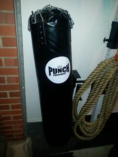 """Large """"Punch"""" Boxing Bag in Good Condition Torrensville West Torrens Area Preview"""