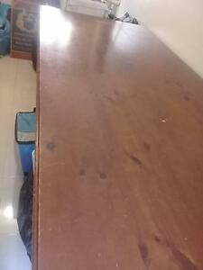 3 mtr x 1.2 mtr solid wood dining table. Loganlea Logan Area Preview