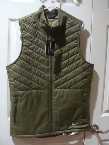 Mens Nike AeroLayer Running Vest Olive Canvas CJ5478 395 Size S~XL