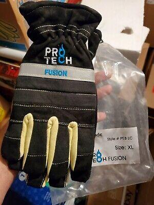 Pro-tech 8 Fusion Firefighting Long Cuff Gloves Size Xl New