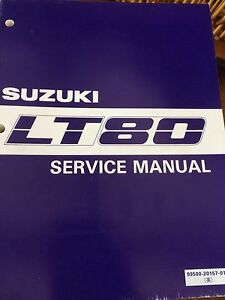 1987-1995 Suzuki LT80 Service Manual