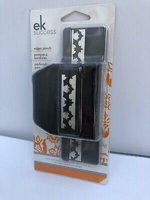 EK Success Edger Punch BAT Border Paper Punch Lock Close Halloween NEW 54-40081 (Halloween Border Paper)