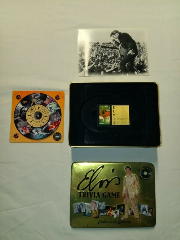 Elvis Trivia Game Collector