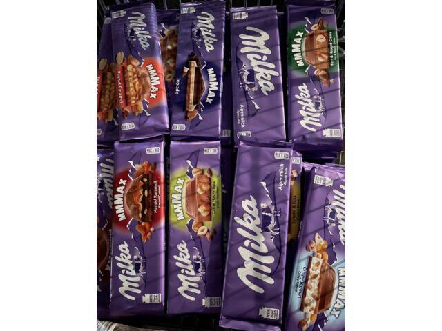 6 verschiedene Sorten Milka Schokolade 270-300Gramm Groß Schokolade Groß Tafel