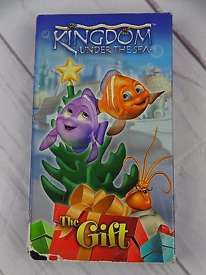 Kingdom Under the Sea: The Gift (VHS  Movie) Case, Tape - V187 - Under The Sea Font