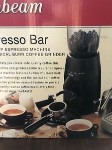 Sunbeam Conical Burr Coffee Grinder Coffee Machines Gumtree