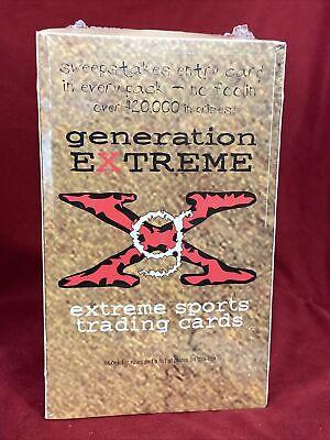 1994 GENERATION EXTREME Sports Cards Sealed Box possible Tony Hawk Rookie PSA?