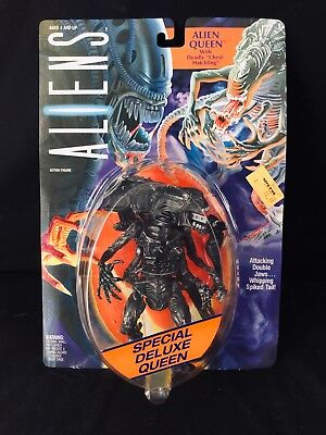 VINTAGE ALIENS ALIEN QUEEN ACTION FIGURE KENNER 1992 NEW ON CARD FREE SHIPPING