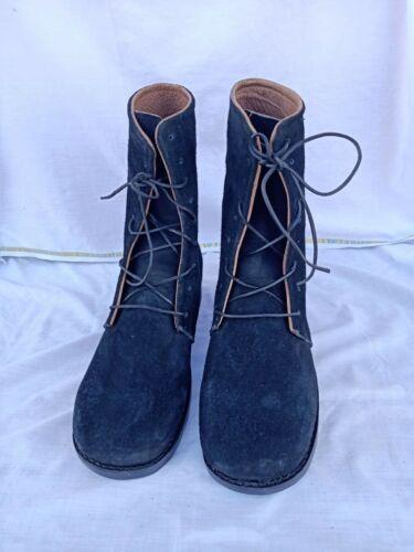 Hi-Low trekkers, colonial black half boots 1812 revolutionary war