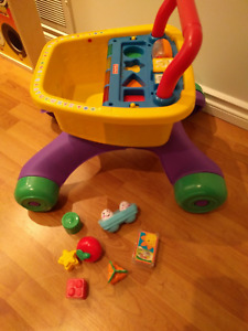 Fisher Price walker/grocery cart
