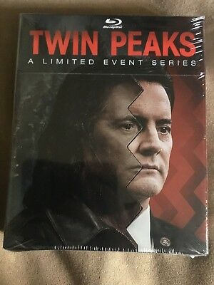 Twin Peaks  A Limited Event Series  Blu Ray Disc  2017  8 Disc Set  Brand New