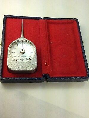Carpo Made In France  For  Victor Herman Tension Gauge  0-100 Grams Original Box
