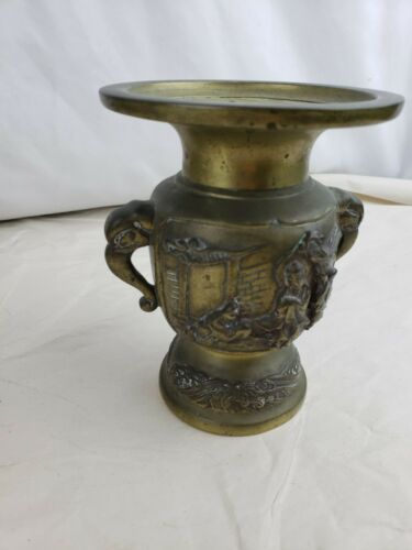 Great old chinese bronze vase, heavy