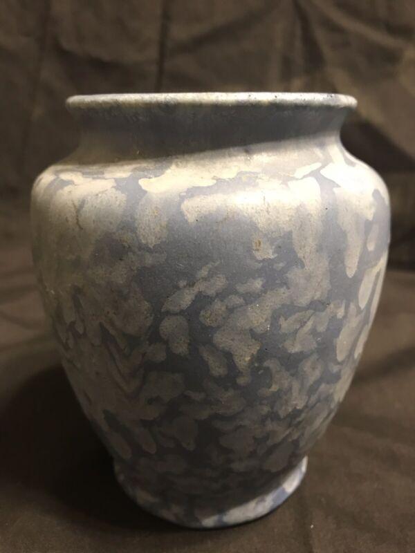 Camark Stippled Blue and White Cabinet Vase