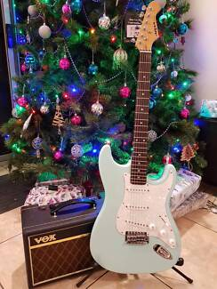 Aria Electric Guitar and Amp Package