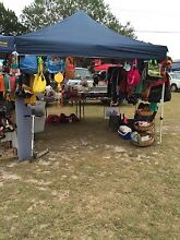 Second hand bric a brack and clothes stall  Bli Bli Maroochydore Area Preview