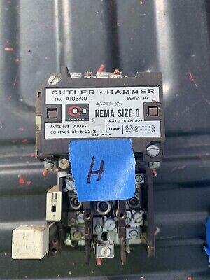 Cutler-Hammer A10CN0 Series A1 NEMA Size 1 Contactor 120 Coil