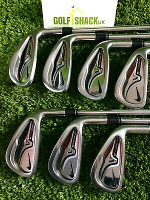 Nike VR Pro Cavity Irons 4-Pw with True Temper Dynalite 110 Stiff Shafts (4002)