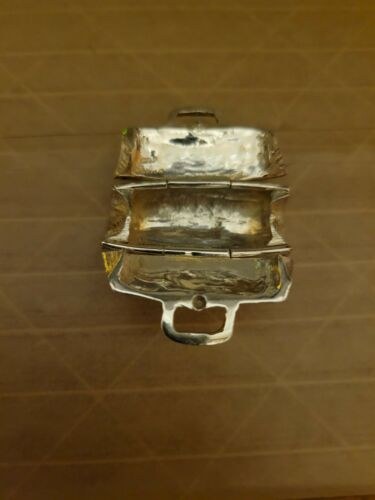 .925 SIlver Rare Doctors Bag 1.5 Inches Long and 1 Inch Tall