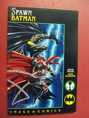 SPAWN-BATMAN, TODD MCFARLANE ART   (9.0 VF/NM Or Better) 1994 IMAGE