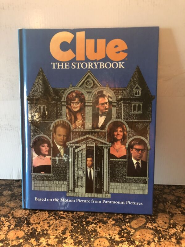 Clue the Storybook movie boardgame vintage book