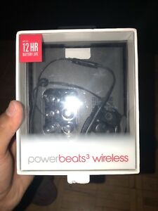 Power beats 3 - wireless black