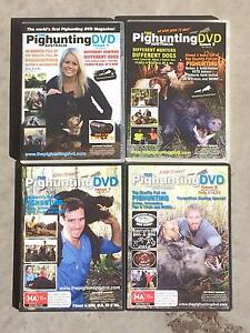 The Pig Hunting Australia DVD 's  4 volumes Maroochydore Maroochydore Area Preview