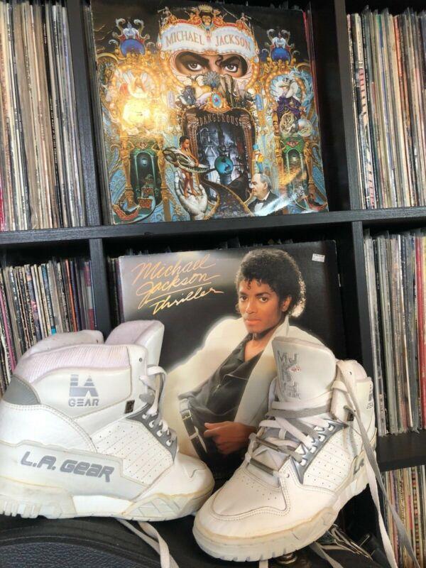 original LA GEAR sneakers Unstoppable Michael Jackson rare no box size 8.5