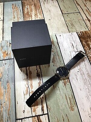 """Marc By Marc Jacobs Watch. Black Leather Band """" Dead Battery """""""