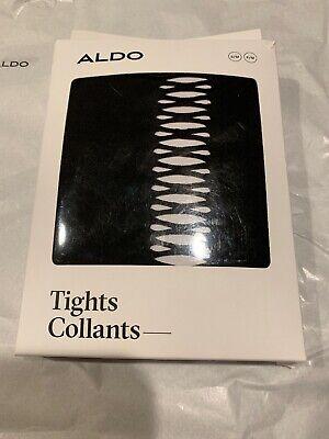 ALDO COLLANTS ONOILIA BLACK SMALL MEDIUM S/M TIGHTS PANTYHOSE PATTERNED HOSIERY - Aldo Halloween