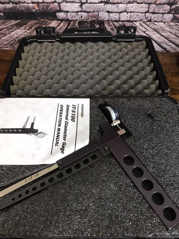 GAGEMAKER IT-5112 Internal Diameter/Groove Gauge, in plastic case EUC!