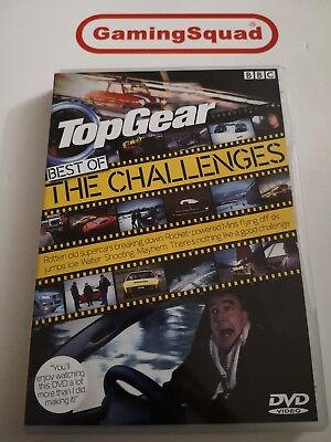 Top Gear Best of the Challenges DVD, Supplied by Gaming Squad (Best Top Gear Challenges)