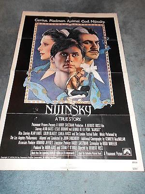 NIJINSKY(1980)ALAN BATES 1SHEET POSTER+