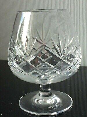 Clear Cut Crystal Glass Cognac Brandy Balloon Goblet 300ml Serving Drink Cup  Clear Crystal Brandy