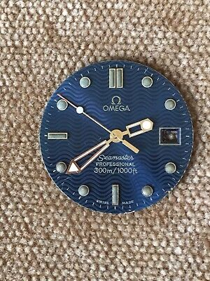 OMEGA SEAMASTER PROFESSIONAL Dial and Hands  300/1000 ft.  Navy Blue