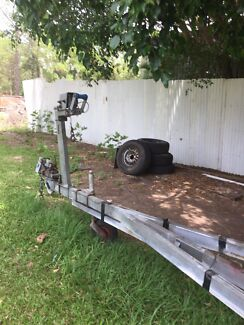 Tandem Boat Trailer Beachmere Caboolture Area Preview
