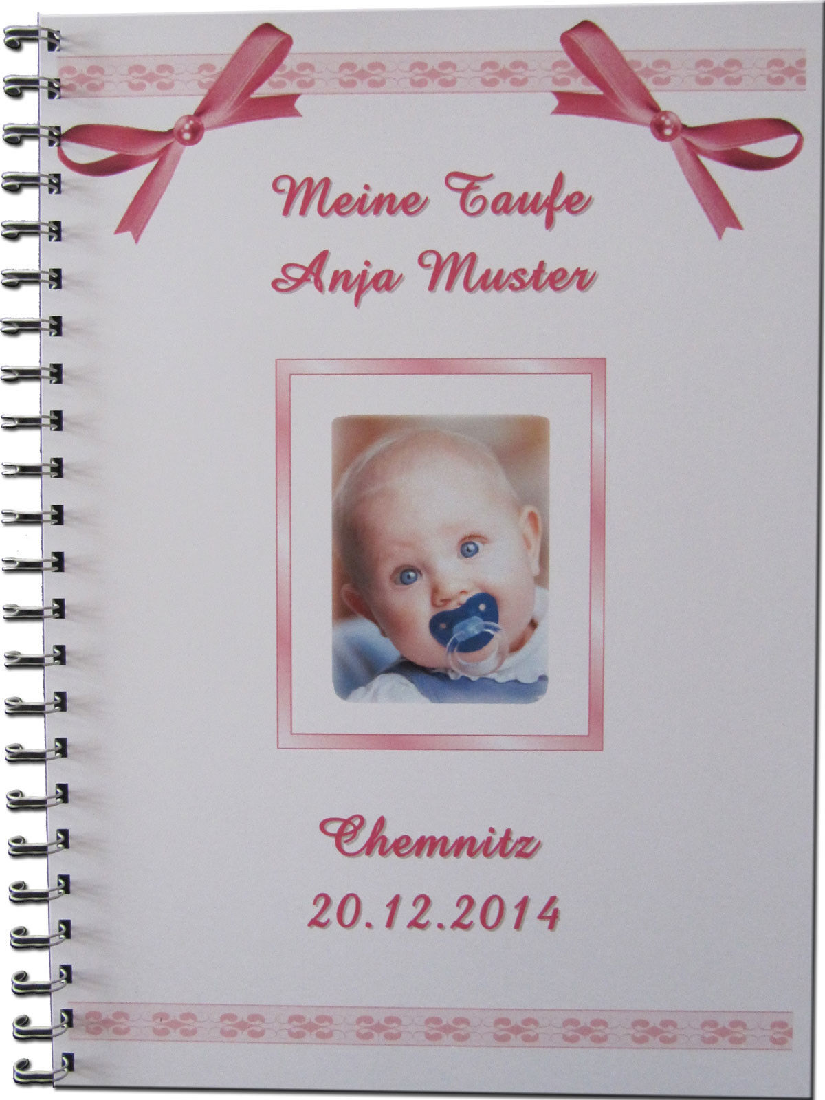 g stebuch fotoalbum taufe geschenk baby bild taufgeschenk. Black Bedroom Furniture Sets. Home Design Ideas