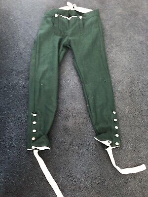 18th Century Reproduction Rogers Rangers / Queens Rangers Gaitered Trousers (LG)