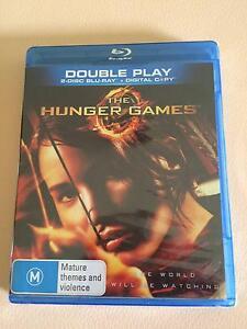 The Hunger Games 2 disc Blu Ray + Digital Copy Eleebana Lake Macquarie Area Preview