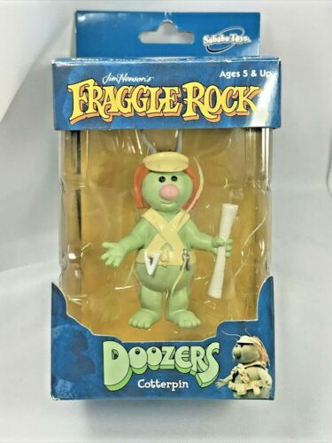 Rare 2003 Muppet Fraggle Rock Doozer Cotterpin Figure Toy in Box by Jim Henson