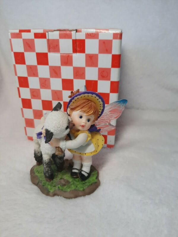 Enesco My Little Kitchen Fairies Happy Easter Lamb